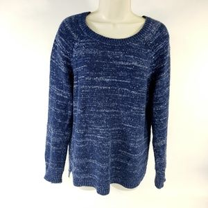Faded Glory Speckled Cozy Comfy Pullover Sweater